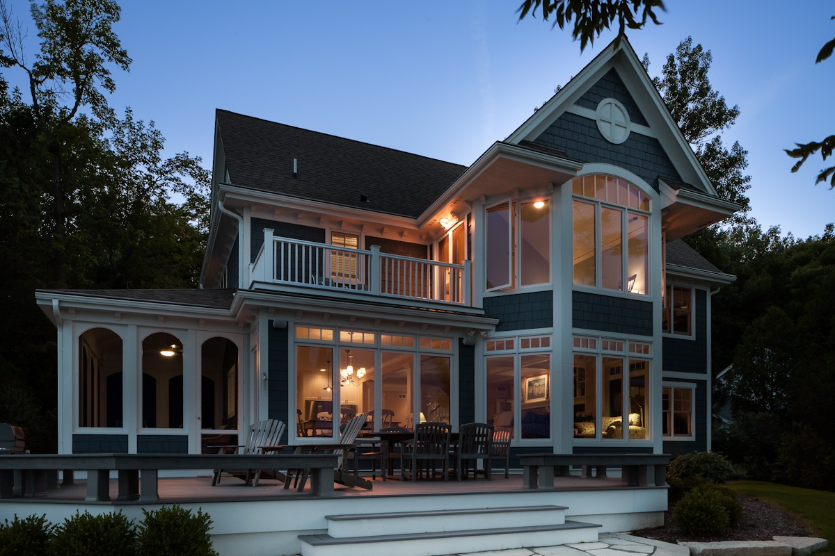 New Home Construction Mequon Modern Victorian