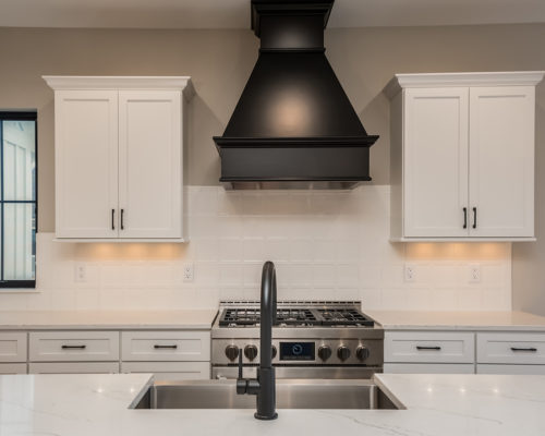 """Magnolia"" – Lakeside Homes New Construction Kitchen: Detail"