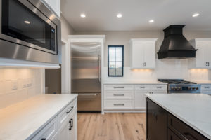 """Magnolia"" – Lakeside Homes New Construction Kitchen, view 2"