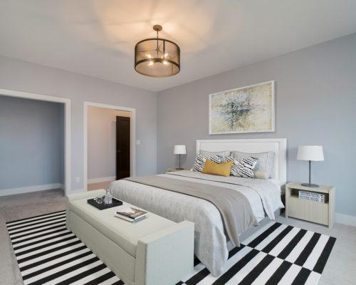 """Magnolia"" – Lakeside Homes New Construction Master Bedroom"
