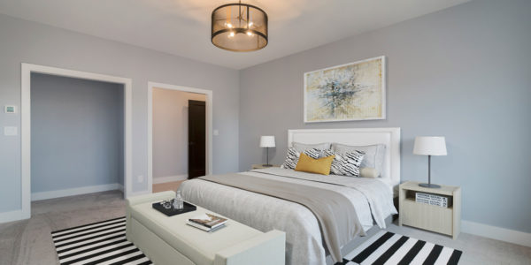"""Magnolia"" – Lakeside Homes New Construction Master Bedroom"