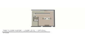 Foxtown, Mequon, New Home, Lower Level Floor Plan (optional)