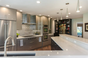 stainless-steel-appliances-silver-cabinets-modern-kitchen