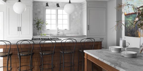 remodel-kitchen-white-woodwork-tile-backsplash-wood-beams-island-floors