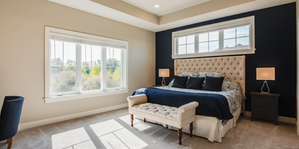 lakeside-master-bedroom-navy-accent-wall