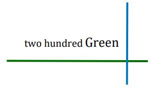 two hundred green logo